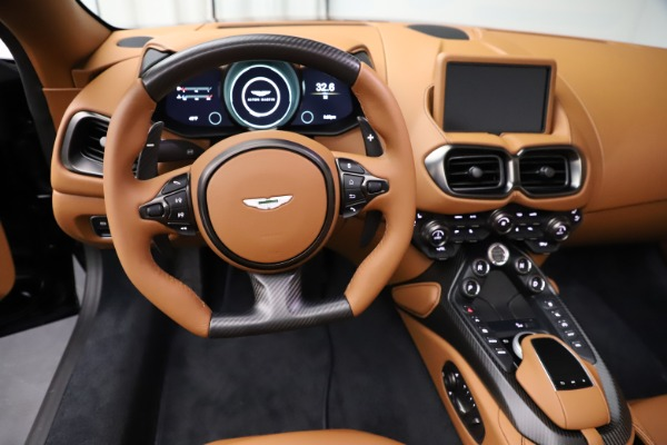 New 2021 Aston Martin Vantage Roadster Convertible for sale $205,686 at Bentley Greenwich in Greenwich CT 06830 17