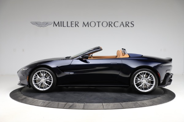 New 2021 Aston Martin Vantage Roadster Convertible for sale $205,686 at Bentley Greenwich in Greenwich CT 06830 2