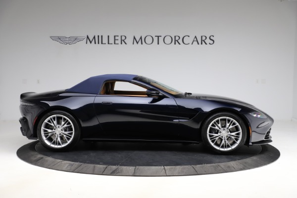 New 2021 Aston Martin Vantage Roadster Convertible for sale $205,686 at Bentley Greenwich in Greenwich CT 06830 22