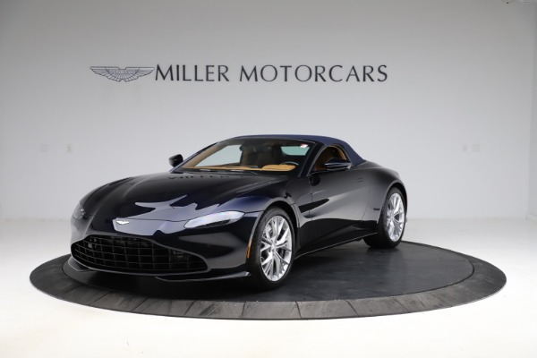 New 2021 Aston Martin Vantage Roadster Convertible for sale $205,686 at Bentley Greenwich in Greenwich CT 06830 24