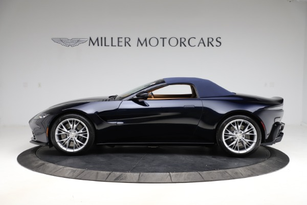 New 2021 Aston Martin Vantage Roadster Convertible for sale $205,686 at Bentley Greenwich in Greenwich CT 06830 25