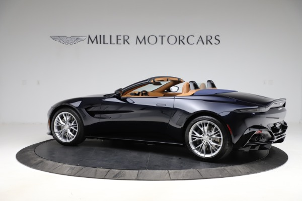 New 2021 Aston Martin Vantage Roadster Convertible for sale $205,686 at Bentley Greenwich in Greenwich CT 06830 3
