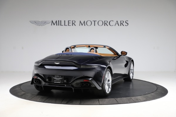 New 2021 Aston Martin Vantage Roadster Convertible for sale $205,686 at Bentley Greenwich in Greenwich CT 06830 6