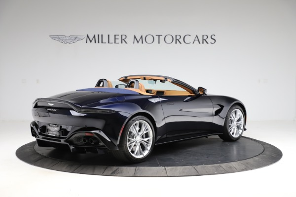 New 2021 Aston Martin Vantage Roadster Convertible for sale $205,686 at Bentley Greenwich in Greenwich CT 06830 7