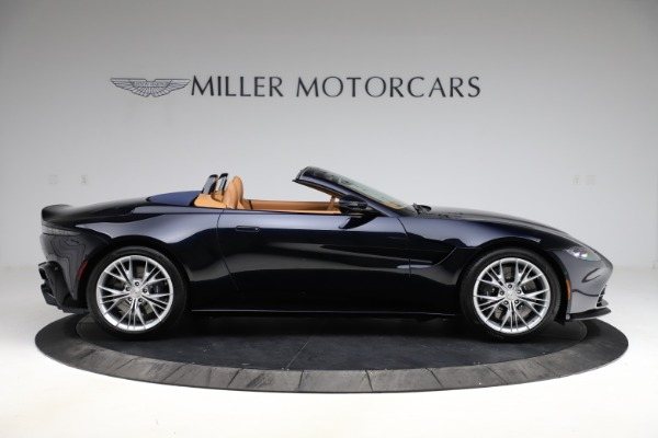 New 2021 Aston Martin Vantage Roadster Convertible for sale $205,686 at Bentley Greenwich in Greenwich CT 06830 8