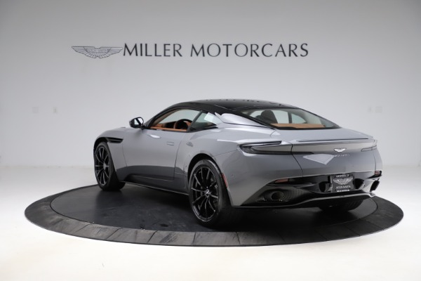 New 2020 Aston Martin DB11 V12 AMR for sale $263,561 at Bentley Greenwich in Greenwich CT 06830 4