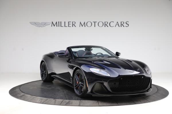 New 2021 Aston Martin DBS Superleggera Volante Convertible for sale $402,286 at Bentley Greenwich in Greenwich CT 06830 10