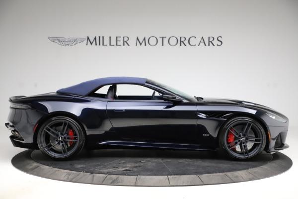 New 2021 Aston Martin DBS Superleggera Volante Convertible for sale $402,286 at Bentley Greenwich in Greenwich CT 06830 12