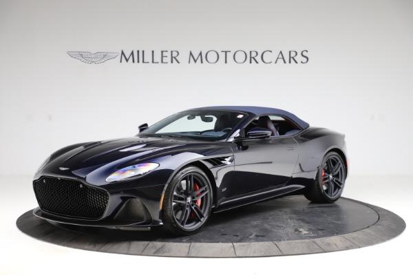 New 2021 Aston Martin DBS Superleggera Volante Convertible for sale $402,286 at Bentley Greenwich in Greenwich CT 06830 16