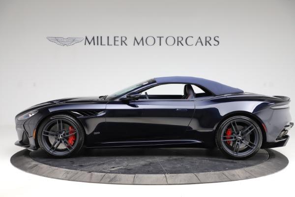 New 2021 Aston Martin DBS Superleggera Volante Convertible for sale $402,286 at Bentley Greenwich in Greenwich CT 06830 17