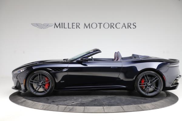 New 2021 Aston Martin DBS Superleggera Volante Convertible for sale $402,286 at Bentley Greenwich in Greenwich CT 06830 2