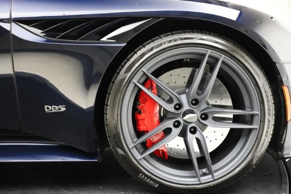 New 2021 Aston Martin DBS Superleggera Volante Convertible for sale $402,286 at Bentley Greenwich in Greenwich CT 06830 27