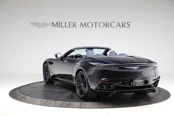 New 2021 Aston Martin DBS Superleggera Volante Convertible for sale $402,286 at Bentley Greenwich in Greenwich CT 06830 4