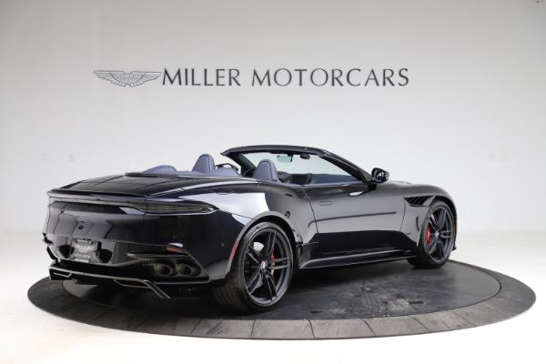 New 2021 Aston Martin DBS Superleggera Volante Convertible for sale $402,286 at Bentley Greenwich in Greenwich CT 06830 7