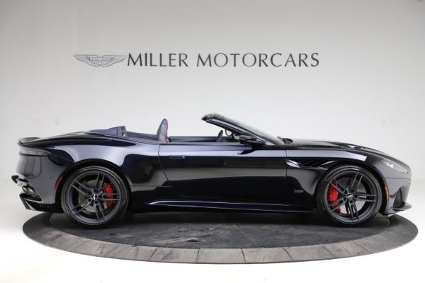 New 2021 Aston Martin DBS Superleggera Volante Convertible for sale $402,286 at Bentley Greenwich in Greenwich CT 06830 8