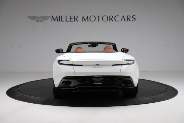 New 2021 Aston Martin DB11 Volante for sale $269,486 at Bentley Greenwich in Greenwich CT 06830 5