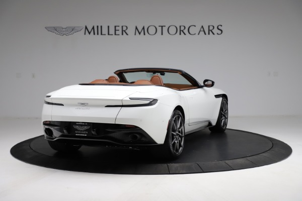 New 2021 Aston Martin DB11 Volante for sale $269,486 at Bentley Greenwich in Greenwich CT 06830 6