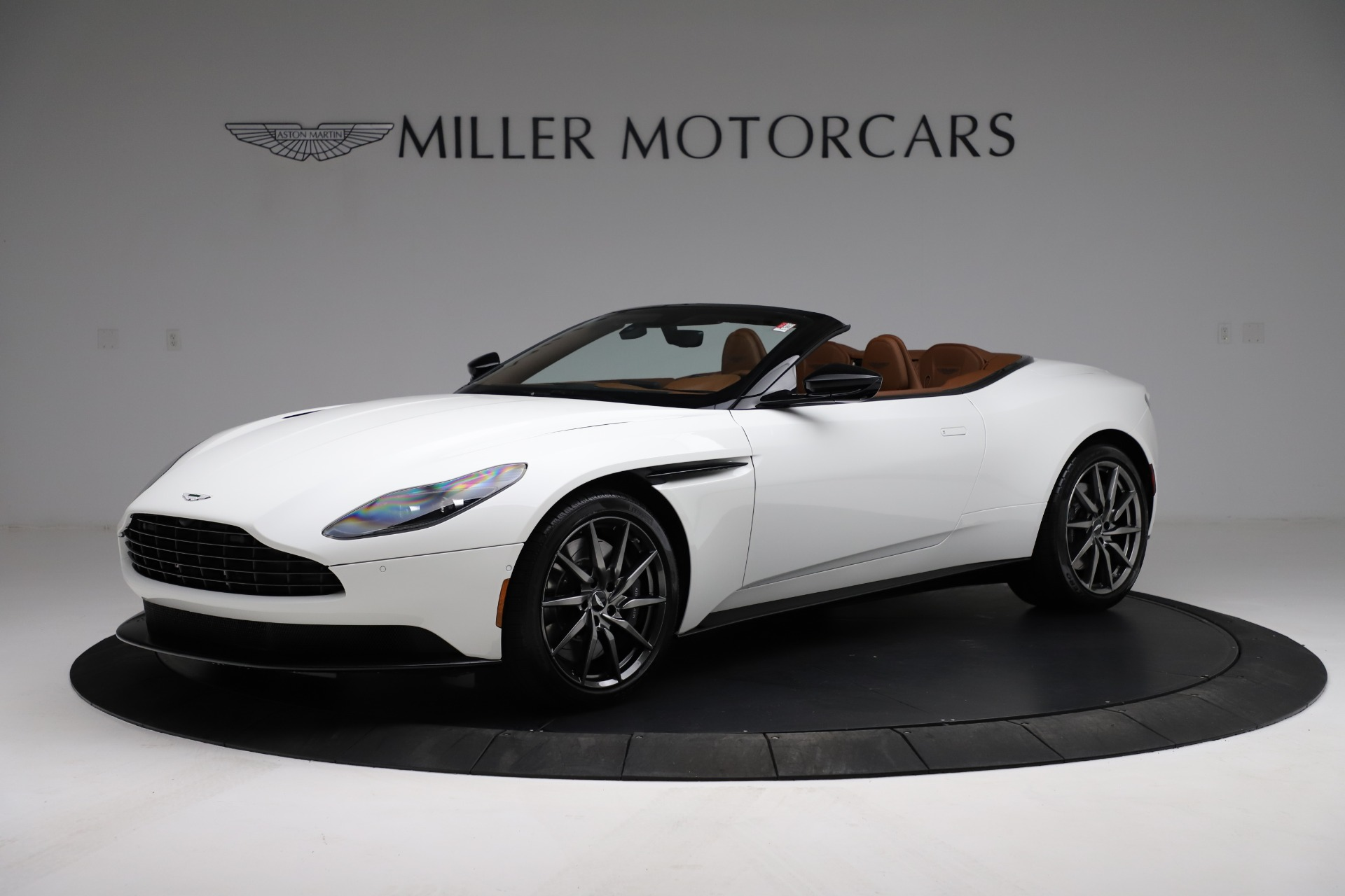 New 2021 Aston Martin DB11 Volante Convertible for sale $269,486 at Bentley Greenwich in Greenwich CT 06830 1