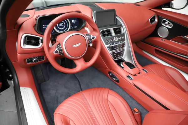 New 2021 Aston Martin DB11 Volante Convertible for sale $261,486 at Bentley Greenwich in Greenwich CT 06830 13