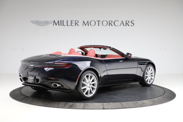 New 2021 Aston Martin DB11 Volante Convertible for sale $261,486 at Bentley Greenwich in Greenwich CT 06830 7