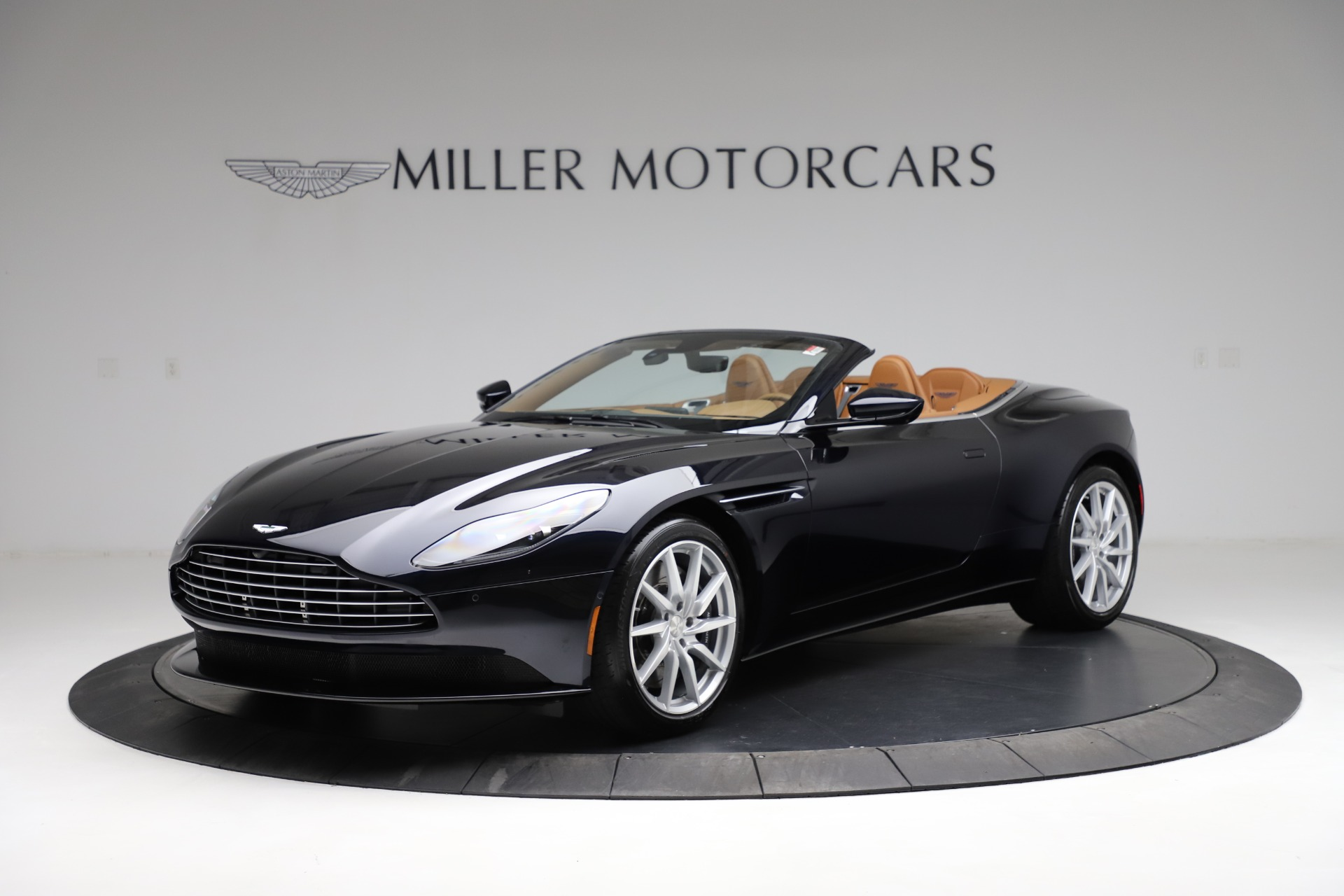 New 2021 Aston Martin DB11 Volante Convertible for sale $265,186 at Bentley Greenwich in Greenwich CT 06830 1