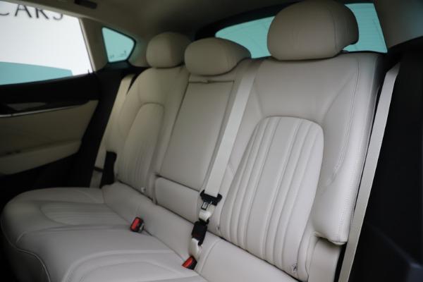 New 2021 Maserati Levante S Q4 GranLusso for sale $106,235 at Bentley Greenwich in Greenwich CT 06830 20