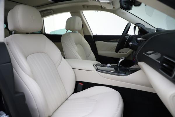 New 2021 Maserati Levante S Q4 GranLusso for sale $106,235 at Bentley Greenwich in Greenwich CT 06830 23