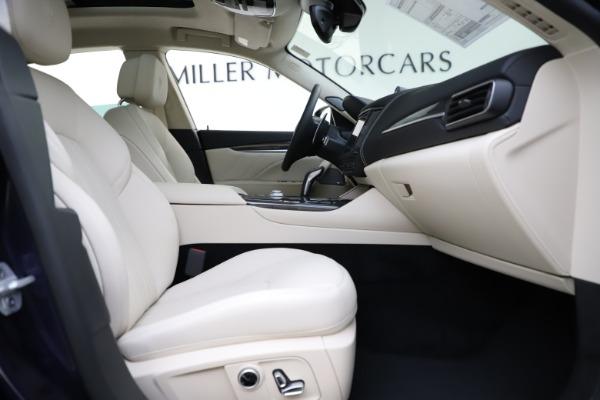 New 2021 Maserati Levante S Q4 GranLusso for sale $106,235 at Bentley Greenwich in Greenwich CT 06830 24