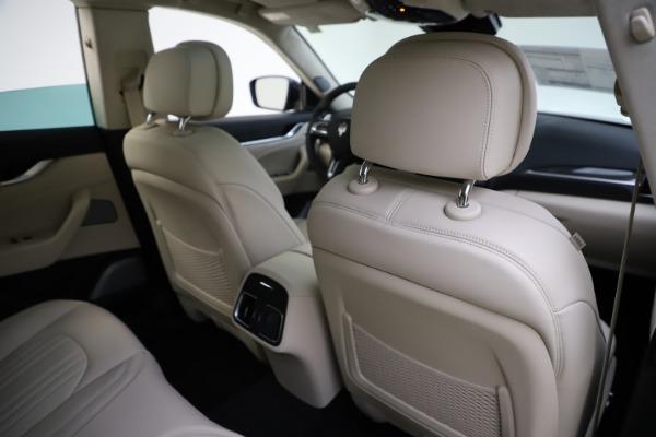 New 2021 Maserati Levante S Q4 GranLusso for sale $106,235 at Bentley Greenwich in Greenwich CT 06830 28
