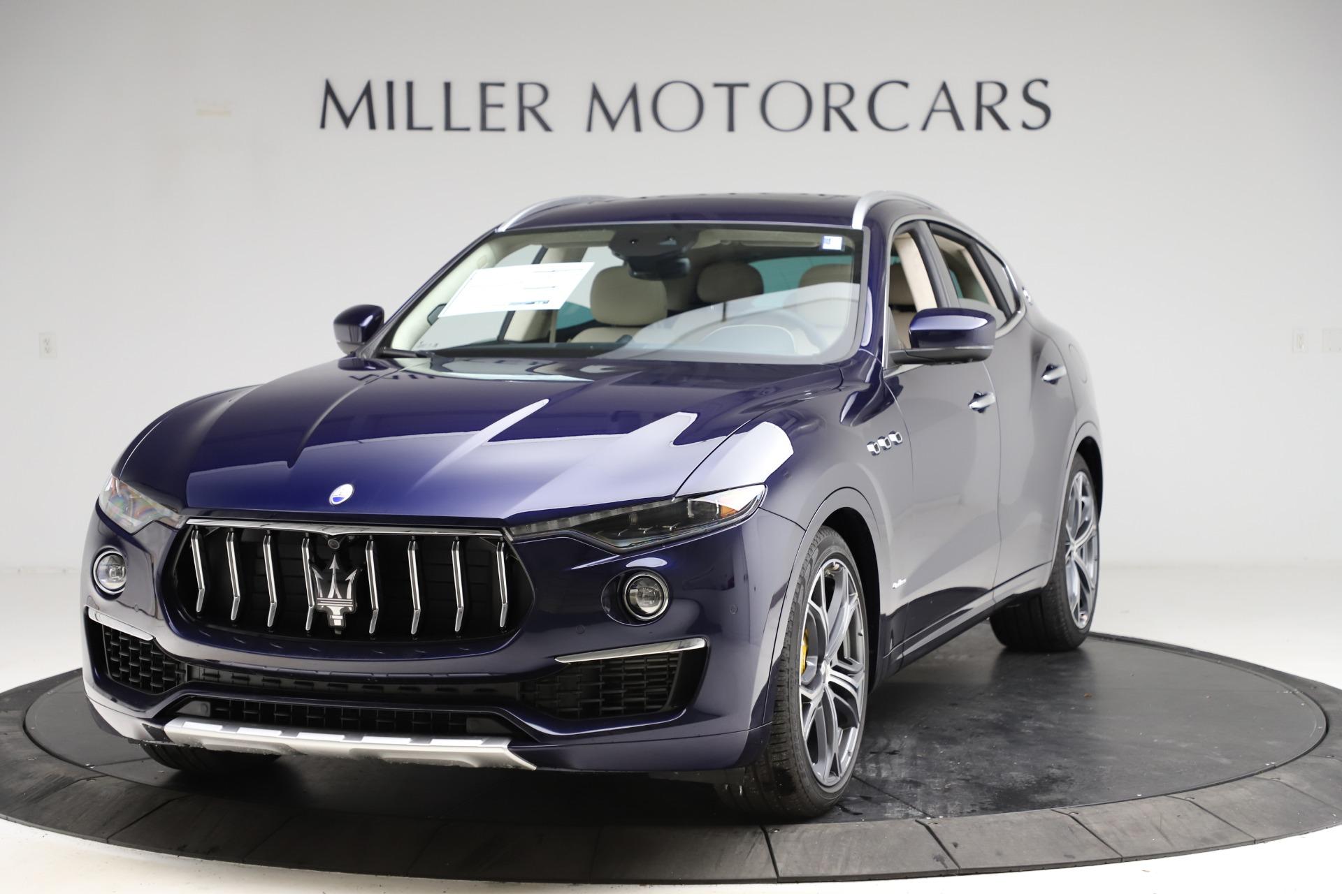 New 2021 Maserati Levante S Q4 GranLusso for sale $106,235 at Bentley Greenwich in Greenwich CT 06830 1