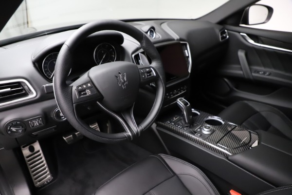 New 2021 Maserati Ghibli S Q4 GranSport for sale $98,125 at Bentley Greenwich in Greenwich CT 06830 13