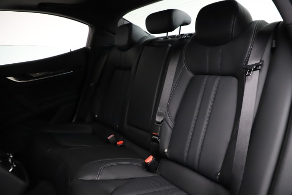 New 2021 Maserati Ghibli S Q4 GranSport for sale $98,125 at Bentley Greenwich in Greenwich CT 06830 20