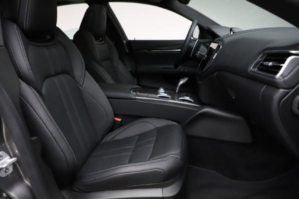 New 2021 Maserati Ghibli S Q4 GranSport for sale $98,125 at Bentley Greenwich in Greenwich CT 06830 23