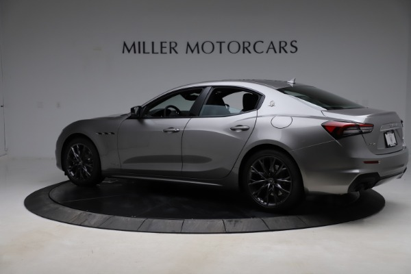 New 2021 Maserati Ghibli S Q4 GranSport for sale $98,125 at Bentley Greenwich in Greenwich CT 06830 4