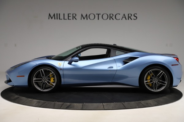 Used 2018 Ferrari 488 GTB for sale Sold at Bentley Greenwich in Greenwich CT 06830 3