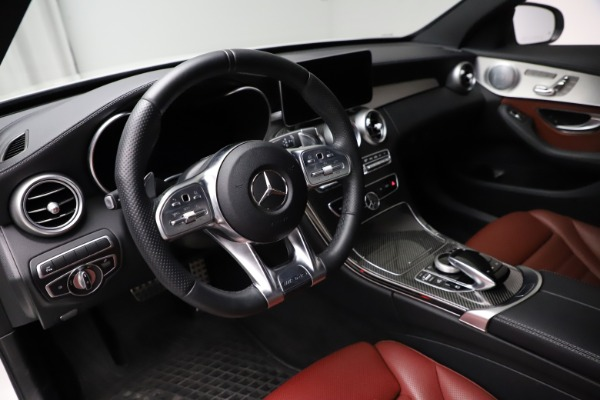 Used 2019 Mercedes-Benz C-Class AMG C 43 for sale $52,990 at Bentley Greenwich in Greenwich CT 06830 14