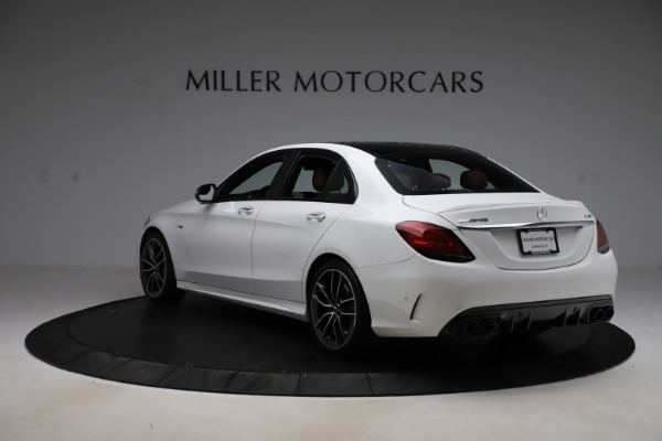 Used 2019 Mercedes-Benz C-Class AMG C 43 for sale $52,990 at Bentley Greenwich in Greenwich CT 06830 6