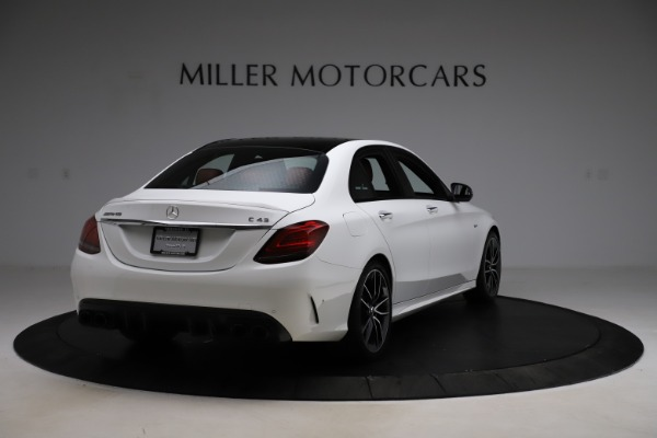Used 2019 Mercedes-Benz C-Class AMG C 43 for sale $52,990 at Bentley Greenwich in Greenwich CT 06830 8