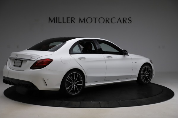 Used 2019 Mercedes-Benz C-Class AMG C 43 for sale $52,990 at Bentley Greenwich in Greenwich CT 06830 9
