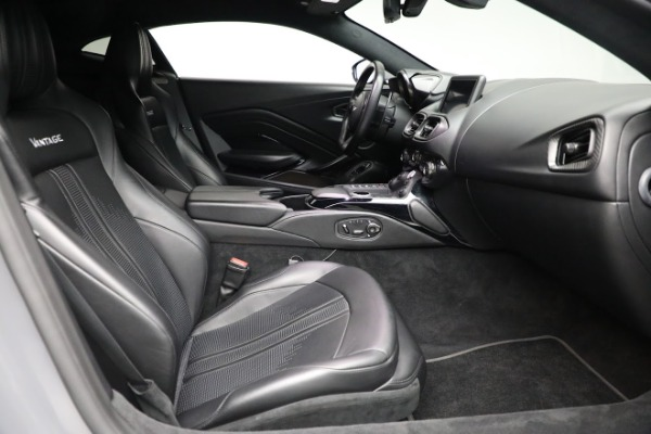Used 2019 Aston Martin Vantage for sale $127,900 at Bentley Greenwich in Greenwich CT 06830 17