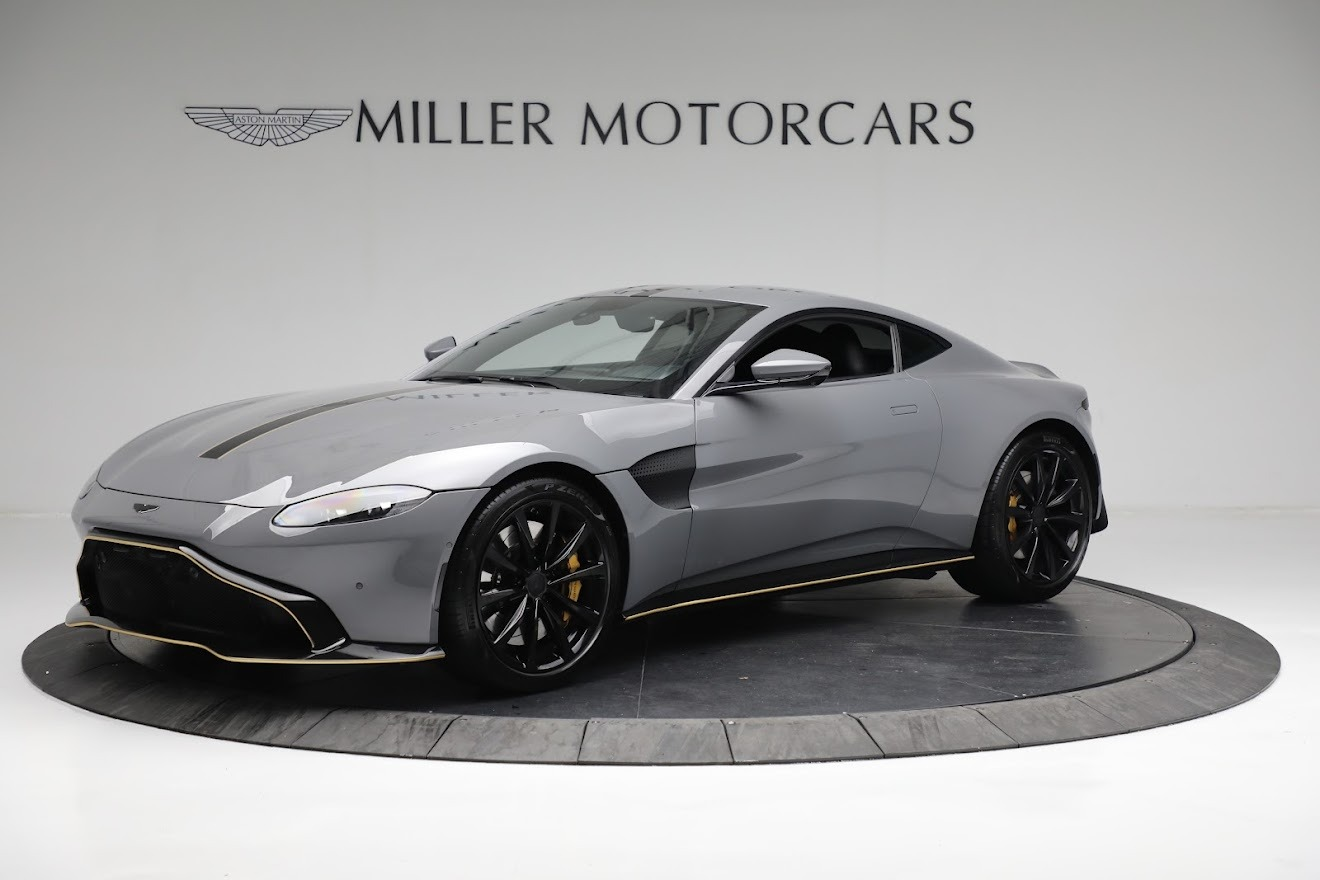 Used 2019 Aston Martin Vantage for sale $129,900 at Bentley Greenwich in Greenwich CT 06830 1