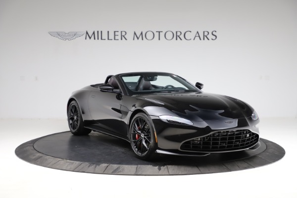 New 2021 Aston Martin Vantage Roadster for sale $189,186 at Bentley Greenwich in Greenwich CT 06830 10