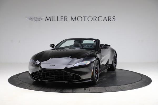 New 2021 Aston Martin Vantage Roadster Convertible for sale $189,186 at Bentley Greenwich in Greenwich CT 06830 12