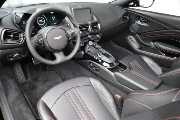 New 2021 Aston Martin Vantage Roadster Convertible for sale $189,186 at Bentley Greenwich in Greenwich CT 06830 13