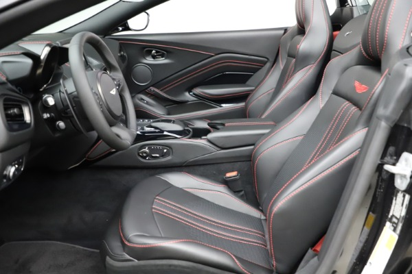 New 2021 Aston Martin Vantage Roadster for sale $189,186 at Bentley Greenwich in Greenwich CT 06830 14