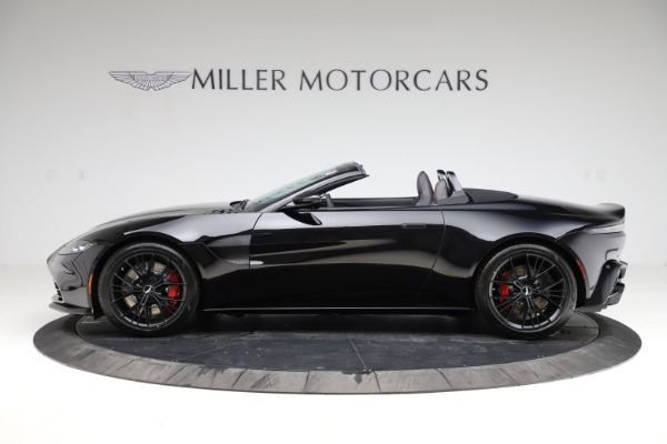 New 2021 Aston Martin Vantage Roadster for sale $189,186 at Bentley Greenwich in Greenwich CT 06830 2