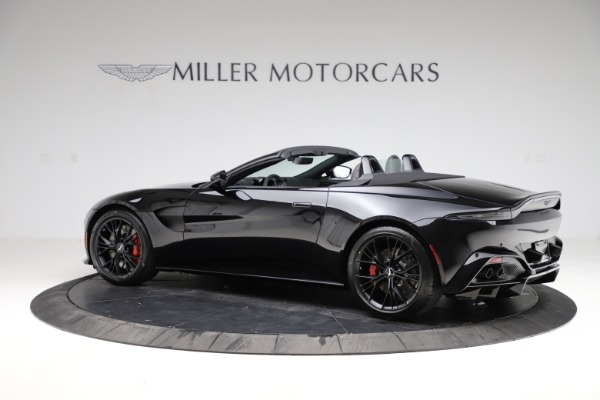 New 2021 Aston Martin Vantage Roadster Convertible for sale $189,186 at Bentley Greenwich in Greenwich CT 06830 3