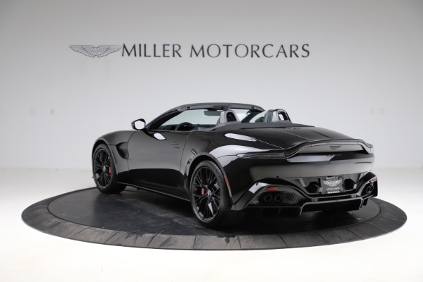New 2021 Aston Martin Vantage Roadster for sale $189,186 at Bentley Greenwich in Greenwich CT 06830 4