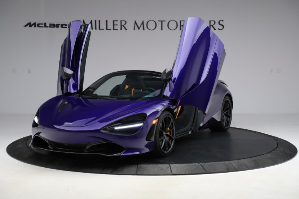 Used 2020 McLaren 720S Spider Performance for sale $324,990 at Bentley Greenwich in Greenwich CT 06830 19