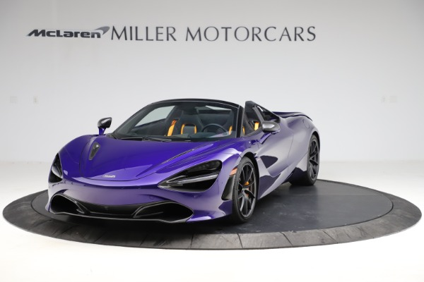 Used 2020 McLaren 720S Spider for sale $324,990 at Bentley Greenwich in Greenwich CT 06830 2